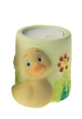 Svietnik: kačička - zelený (OS-04)