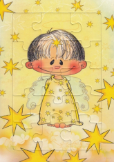 Puzzle: Anjel Zlatúšik - žlté