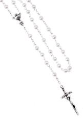 Ruženec: Sviatosť oltárna - biely (R06K)