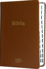 Biblia ekumenická v koži - hnedá (2018) - 4. opravené vydanie