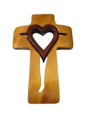 Kríž: drevený, široký - dub (245B)
