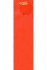 Darčeková taška: na víno - oranžová (TOR-0941)