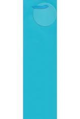 Darčeková taška: na víno - modrá (TOR-0941)