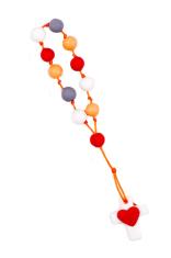 Ruženec: desiatok, modurit - červený (H15022)