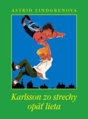 E-kniha: Karlsson zo strechy opäť lieta