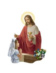 Magnetka: Pán Ježiš a dievča (15/K29)