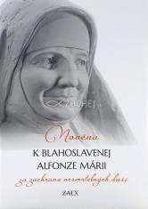 Novéna k blahoslavenej Alfonze Márii za záchranu nesmrteľných duší