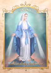 Kalendár: katolícky, nástenný - 2020  (Via)