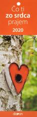 Kalendár 2020 - Čo ti zo srdca prajem (Doron)