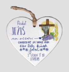Drevené srdce: Priateľ Ježiš...