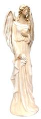 Anjel sadrový - krémový (179)