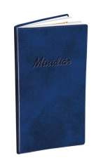 Minidiár: modrý - 2020