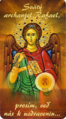 Magnetka: Sv. archanjel Rafael (LV20)