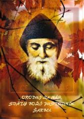Obrázok: Sv. Šarbel (LV26) - s modlitbou