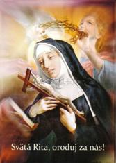 Obrázok: Sv. Rita (LV25) - s modlitbou