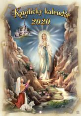 Kalendár: katolícky, nástenný - 2020 (ZAEX)