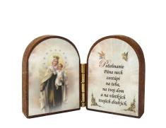 Oltárik: Panna Mária Škapuliarská (4CM-14)
