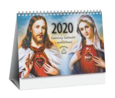 Kalendár: katolícky, stolový - s modlitbami, 2020 (JH)