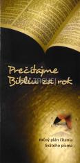 Prečítajme Bibliu za rok - ročný plán čítania Svätého Písma