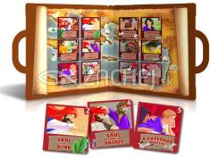Život a cesty apoštola Pavla - otvárací kufrík s 12 malými knižočkami