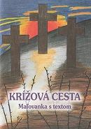 Krížová cesta - Maľovanka s textom