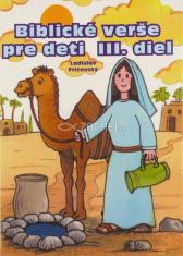 Biblické verše pre deti III. diel