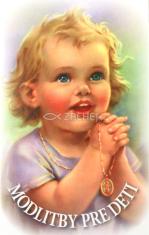 Modlitby pre deti - Skladačka