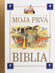 Moja prvá Biblia (so stužkou) - Detská Biblia so zlatou stužkou