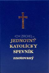Jednotný katolícky spevník (znotovaný modrý - lesklý) - rímskokatolícky spevník a modlitebník