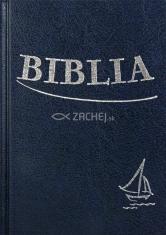 Biblia - modrá (tvrdá väzba) - Sväté Písmo Starého a Nového zákona