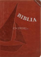 Biblia - hnedá (mäkká väzba) - koženka