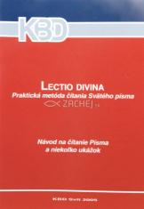 Lectio divina - praktická metóda čítania Svätého písma - Návod na čítanie Písma a niekoľko ukážok