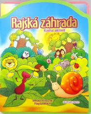 Rajská záhrada - Kniha aktivít - puzzle kniha