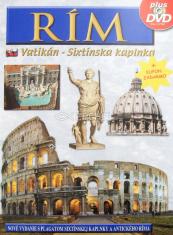 Rím - Umenie, história, archeológia + DVD - Vatikán, Sixtínska kaplnka