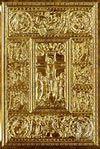 Biblia s kovovým razidlom