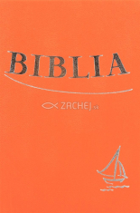Biblia - oranžová (tvrdá väzba) - Sväté Písmo Starého a Nového zákona