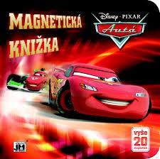 Autá (Disney, Pixar) - Magnetická knižka, leporelo
