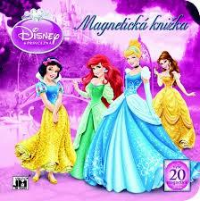 Princezné (Disney) - Magnetická knižka, leporelo