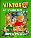 Viktor na prechádzke v lese - kniha s puzzle