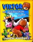 Viktor na gazdovskom dvore - kniha s puzzle