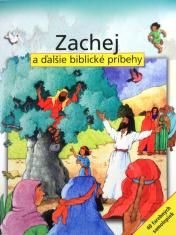 Zachej a ďalšie biblické príbehy - kniha + 40 farebných samolepiek