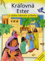 Kráľovná Ester a ďalšie biblické príbehy - kniha + 40 farebných samolepiek