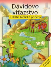Dávidovo víťazstvo a ďalšie biblické príbehy - kniha + 40 farebných samolepiek