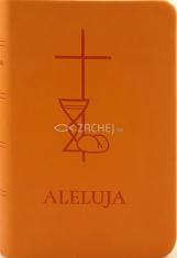 Aleluja - modlitebná kniha oranžová - Svätá omša, modlitby, piesne