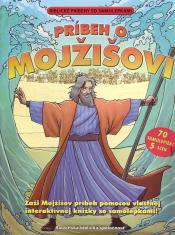 Príbeh o Mojžišovi - Biblické príbehy so samolepkami