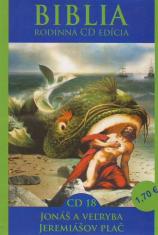 CD: Biblia - Jonáš a veľryba, Jeremiášov plač - CD 18