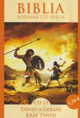 CD: Biblia - Dávid a Goliáš, Kráľ Dávid - CD 15