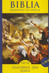 CD: Biblia - Zasľúbená zem, Jozue - CD 12