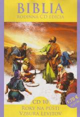 CD: Biblia - Roky na púšti, Vzbura Levitov - CD 10