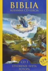 CD - Biblia - Stvorenie sveta, Potopa - CD 1
